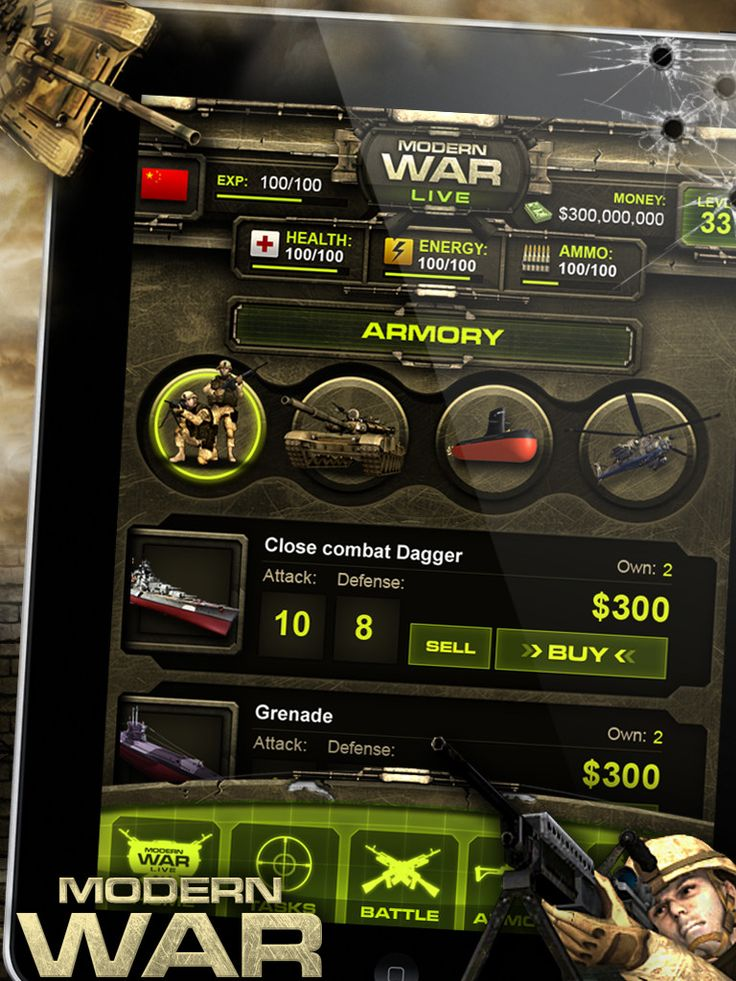 military game ui - Google 검색
