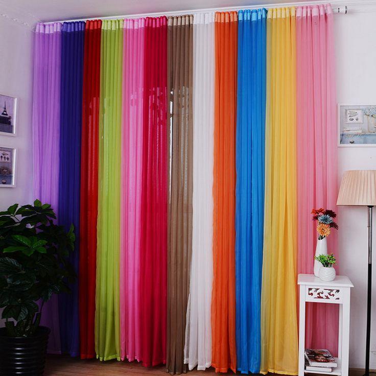 Купить товар15 цветов шторы для гостиной 1 шт. домой отель офис спальня…