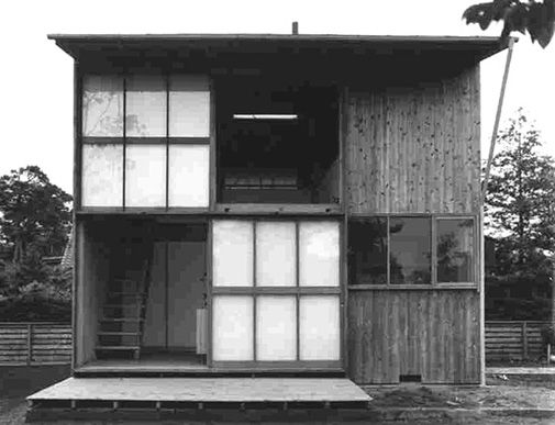 1952.増沢洵『最小限住宅』 自邸