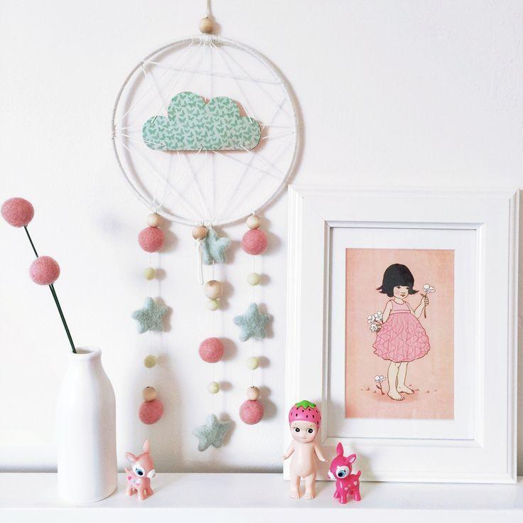Image of Mini Dreamcatcher - butterflies