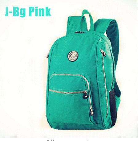 4e57a8e1091c Preppy Style Women Backpack Waterproof Nylon Backpack 10 Colors Lady Women s  Backpacks Female Casual Travel Bag