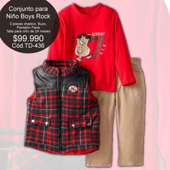 #Conjunto para #Niño #Boys#Rock