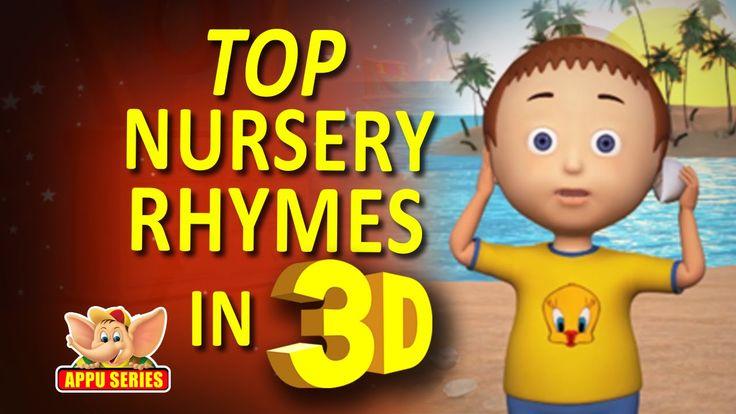 Nursery Rhymes Vol 12 - Collection of Top Songs with Karaoke (3D Version)