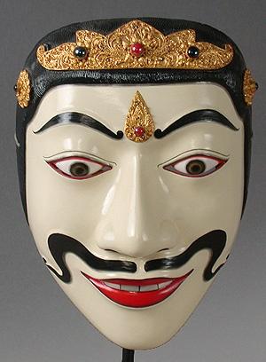 Dalem Kumis Balang mask  Topeng dance drama, Bali, Indonesia