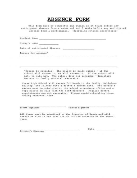 Doctors Note For Work Absence Free Download Doctors Note
