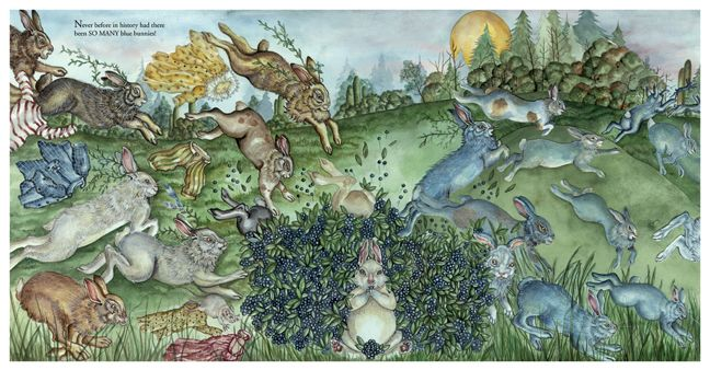 """From """"Hopalong Jack and the Blue Bunnies"""" by Jeri Landers"""