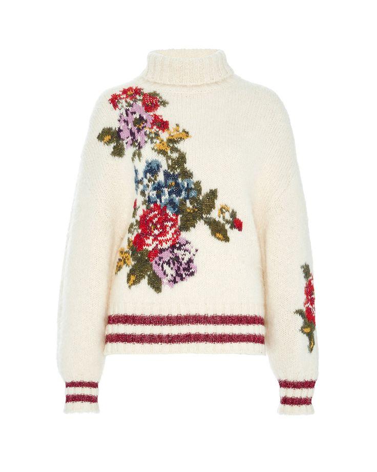 Leur Logette | White Flower Sweater | Lyst
