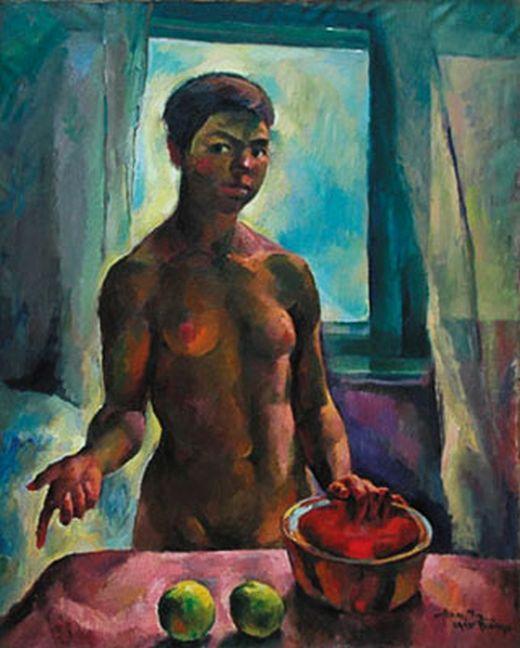 Zsögödi Nagy Imre (1893-1976) - Gipsy girl