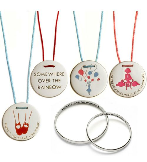 what a gorgeous collection of jewellery :)    Little Lamb 'Over The Rainbow' children's jewellery collection