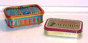 Tutorial - covering altoid tins with polymer clay: Student