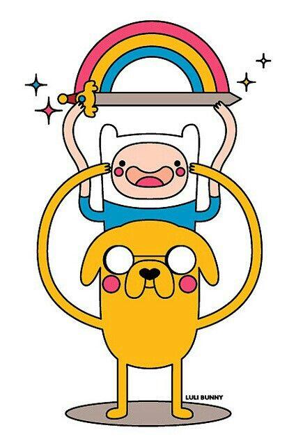 Finn & Jake. Adventure Time!