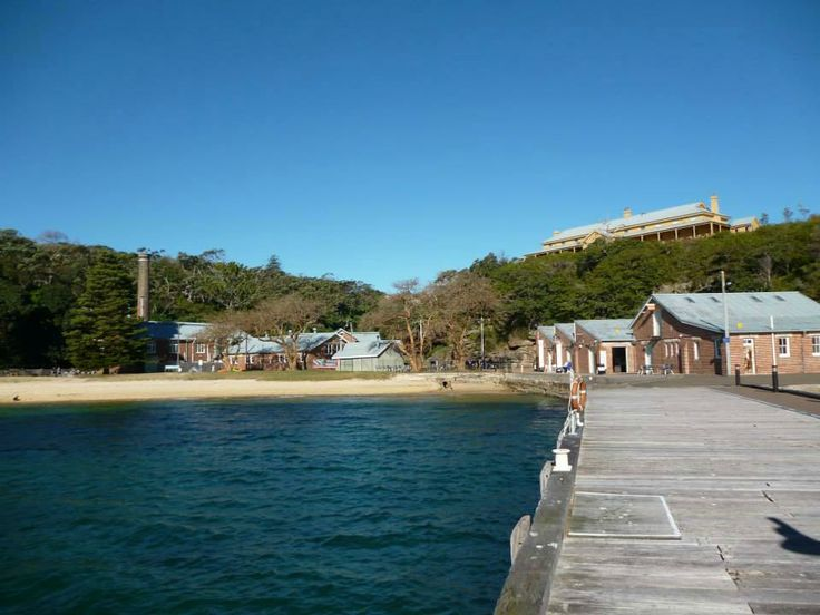 Manly Quarantine Station Jetty. This was the first view of the Quarantine Station that passengers saw. If any infection broke out on a ship travelling to Sydney, the captain had to fly a yellow flag and moor at the Quarantine Station - not at Circular Quay.