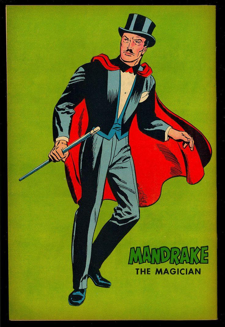 Mandrake THE Magician 1 High Grade Silver AGE King Comics 1966 VF NM | eBay