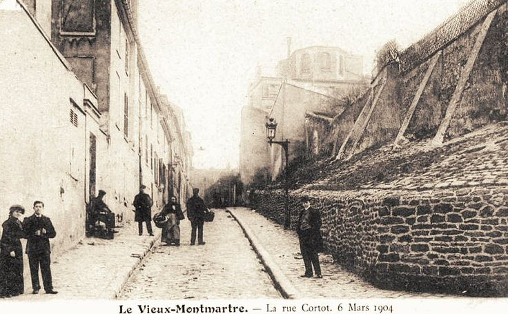 rue Cortot - Paris 18ème