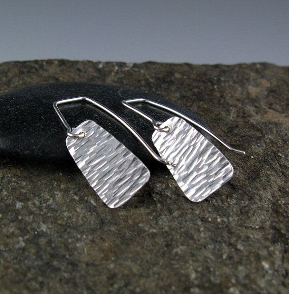 Small Textured Sterling Silver by annewalkerjewelry on Etsy