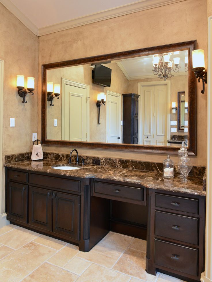Dark Emperador bathroom. Material from Levantina Dallas ...