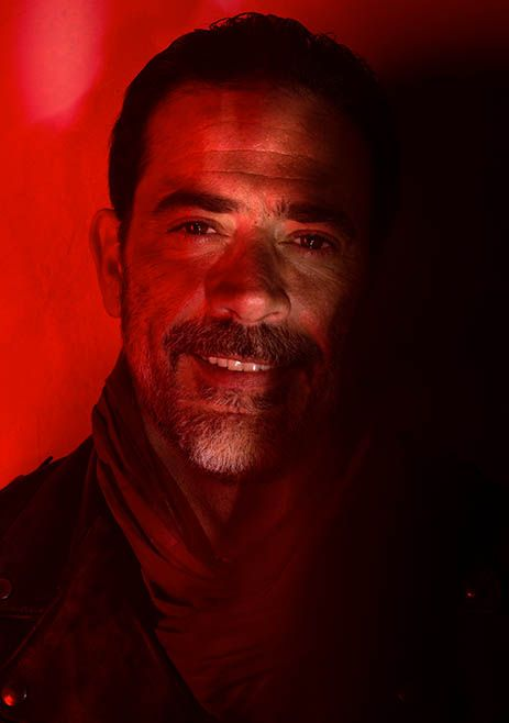 Negan  (Jeffrey Dean Morgan) The Walking Dead Season 7 Cast Portraits  | AMC