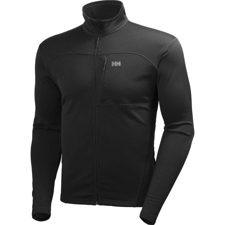 Helly Hansen Men's Vertex Stretch Midlayer Fleece | Black