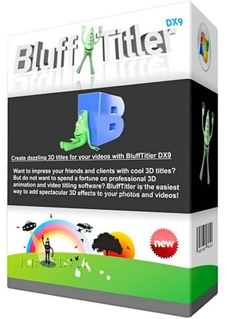 Lovely BluffTitler Ultimate Portable is the latest editing tools The software is