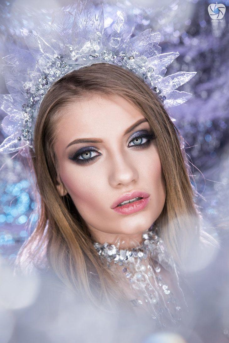 Ice queen by Makargina.deviantart.com on @DeviantArt