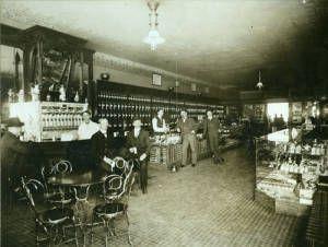 E.G. Patterson Drug Store interior, Bismarck, N.D….