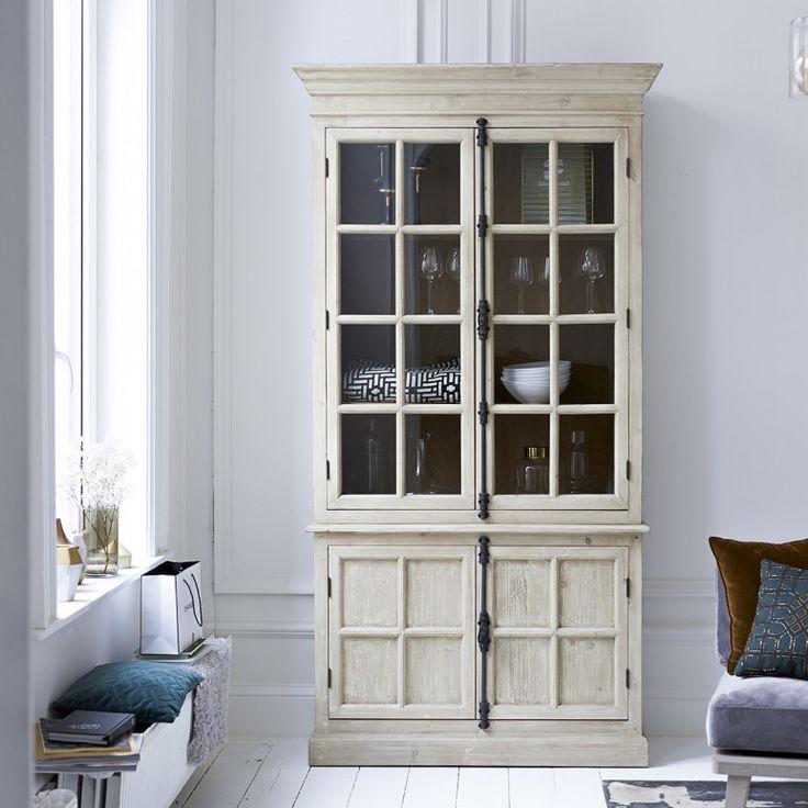 £1149 Pine bookcase 120x230 - Esther bookcases sale - Tikamoon
