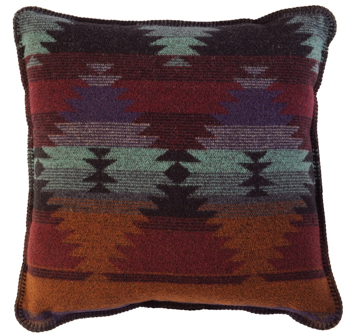 Painted Desert Pillow Cuddly Throws and Pillows