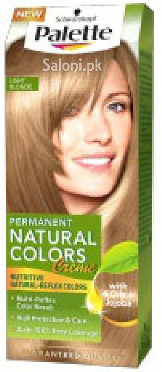 Schwarzkopf Palette Permanent Natural Colour Light Blonde 8-0