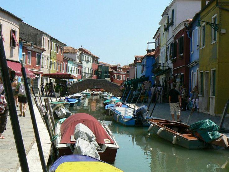 Colours of Burano...  Photo: Beata B.