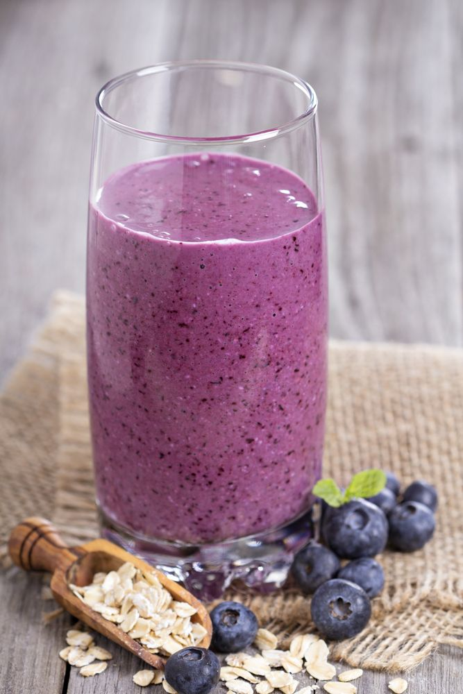 On a diet and need a high protein smoothie? Packed with protein, this blueberry and tofu smoothie is a perfect post workout food or meal replacement. It isn't low carb but can be by cutting down on the blueberries. - All Nutribullet Recipes #smoothies #diet #nutribullet