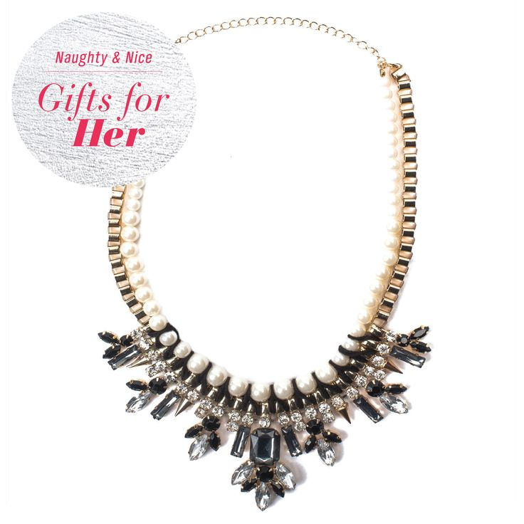 Sparkle & dazzle with this #SmartSet necklace around your neck!