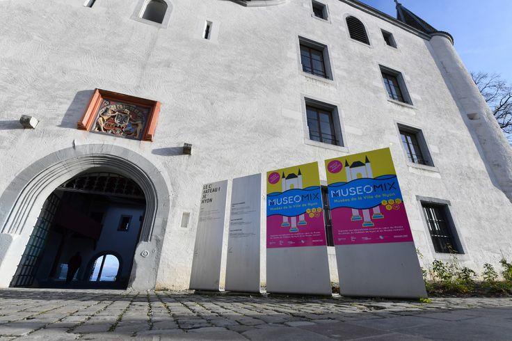 #Museomix16 Château de Nyon #graphism #poster