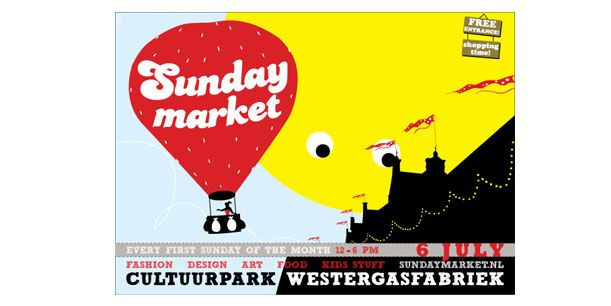 SUNDAY MARKET  Westergasfabriek