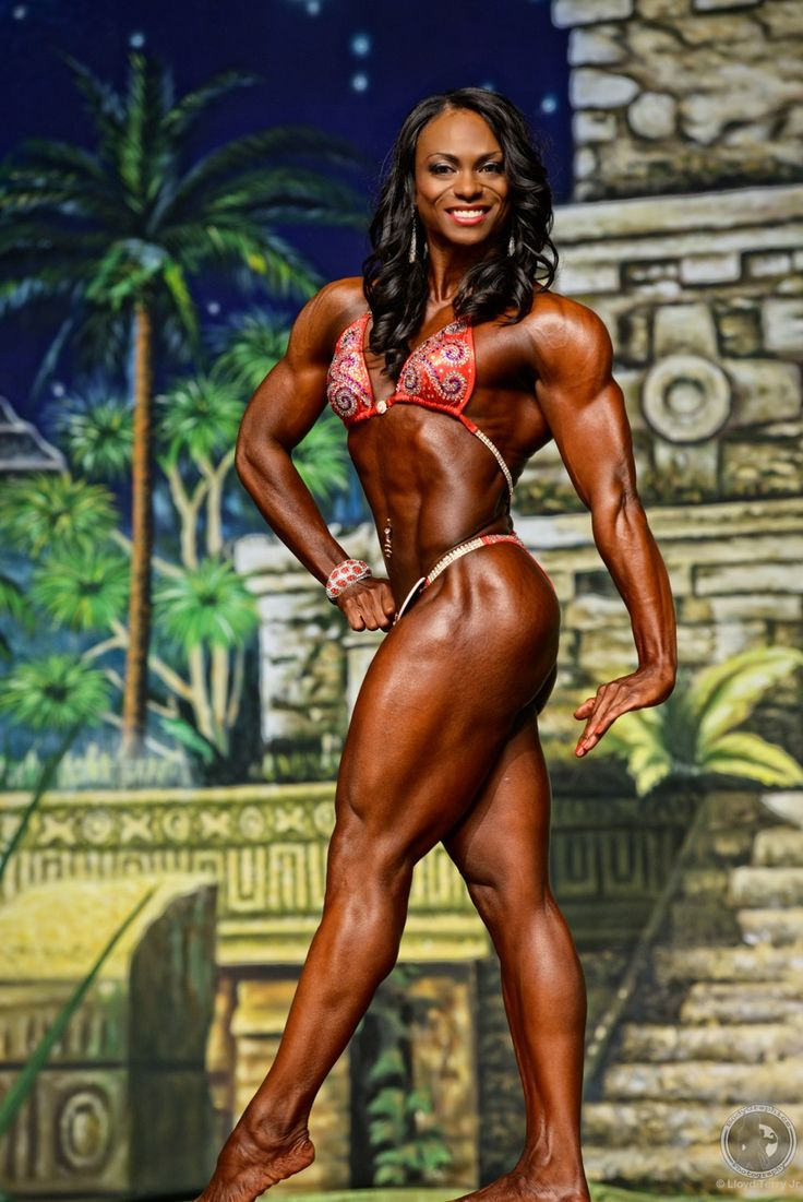 IFBB Pro LaDawn McDay, Womens Physique Photography