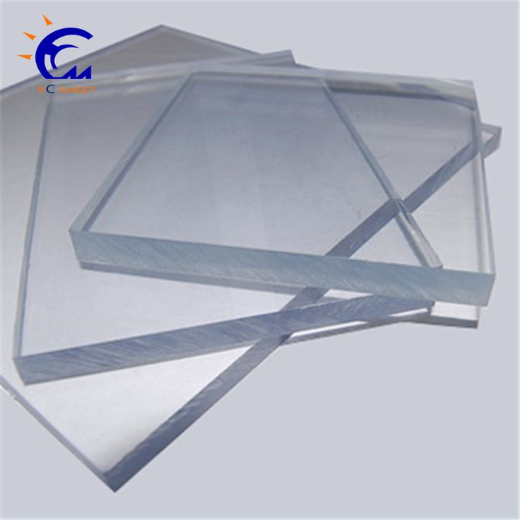 Clear plexiglass sheets /perspex roofing sheets polycarbonate soild of Hangmei