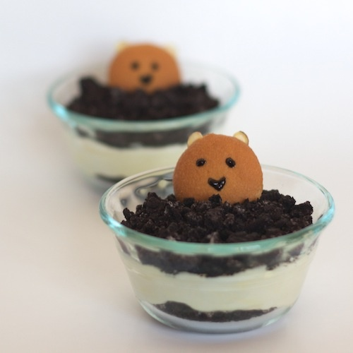 So cute, I want to do this next year for groundhog's day!
