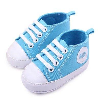 Для новорожденных первые Walker детские кеды мягкой подошвой обувь 0-12 месяцев