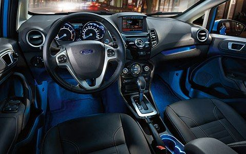 2015 Ford Fiesta as your Affordable Luxury Cars-dashboard