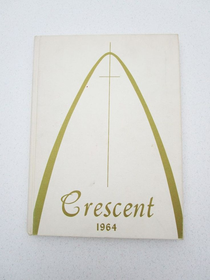 Cresent 1964 Yearbook Academy of the Visitation St. Louis Missouri Arch Cross