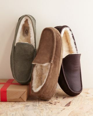 UGG Men's Ascot Shearling Slipper. Valentine's gift for David...shhhh!