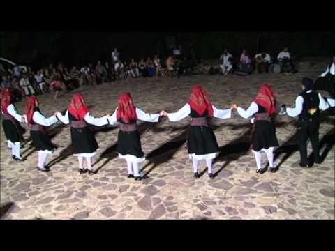 Greek folk dance Karfas CHIOS HD - YouTube