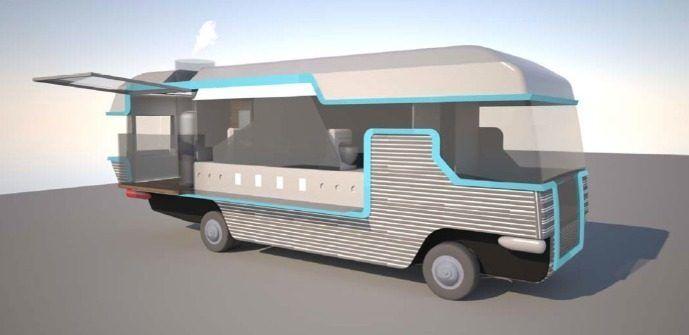 Nitropod, LA's First Ever Liquid Nitrogen Ice Cream Truck