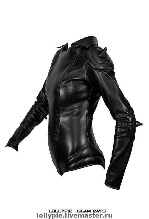 55ed4d9e5a42cb3 Верхняя одежда ручной работы. Заказать Куртка Body Rat. Модистка Кэт -  Lollypie. Ярмарка Мастеров. Эксклюзив, шипы