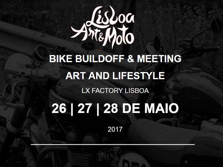 De 26 a 28 de Maio de 2017, em Lisboa, na LX Factory.