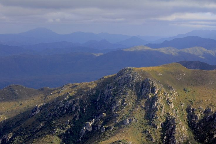Tasmania's South West - wild and rugged wilderness
