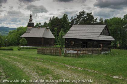 Open-air museum in northern #Slovakia.  www.simplycarpathians.com