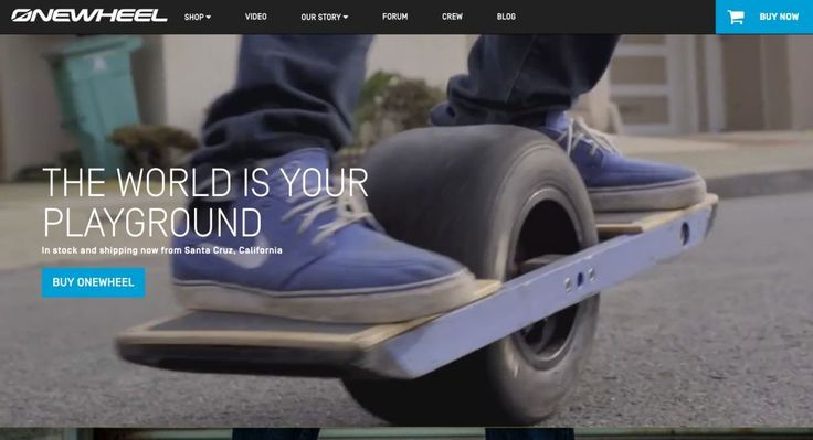Onewheel http://shopify.cool/technology/onewheel/?utm_campaign=coschedule&utm_source=pinterest&utm_medium=Shopify%20Cool&utm_content=Onewheel