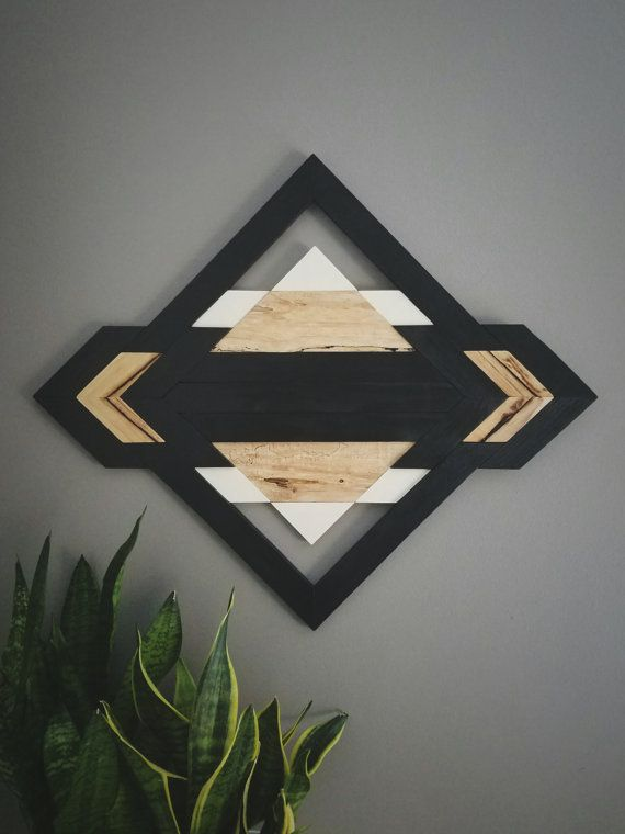 One of A Kind  Wood Wall Art  Reclaimed Wood  by am2interiors