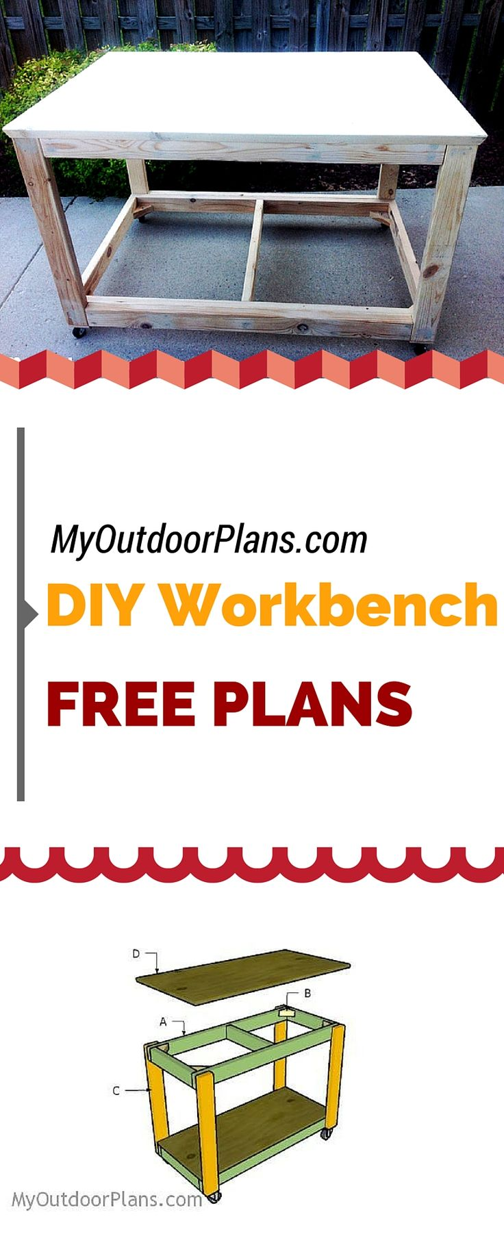 100 best images about best of diy projects on pinterest arbor this step by step diy woodworking project is about portable workbench plans