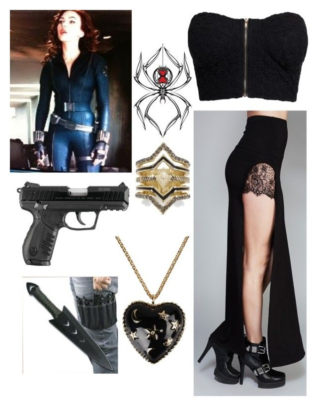 """Assassin in the Making- Teenage Natasha Romanoff: Girly Look"" by jordynn-nicole-fishy ❤ liked on Polyvore featuring NLY Trend, Wet Seal, BCBGeneration and Moschino"
